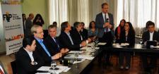 Assinatura do Termo de Cooperação do WRI Brasil Cidades Sustentáveis com a FNP em Brasília